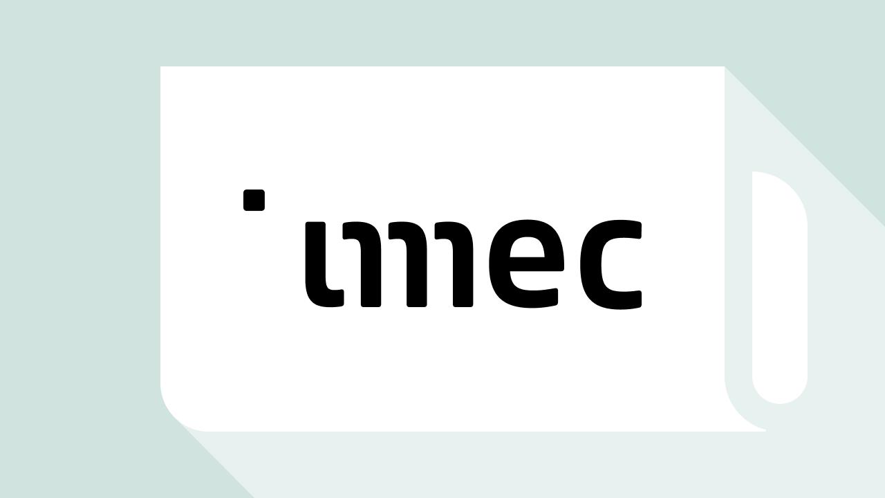 2017 IMEC.iStart Accelerator Program