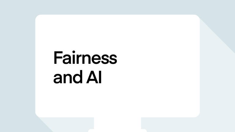 Fairness and AI