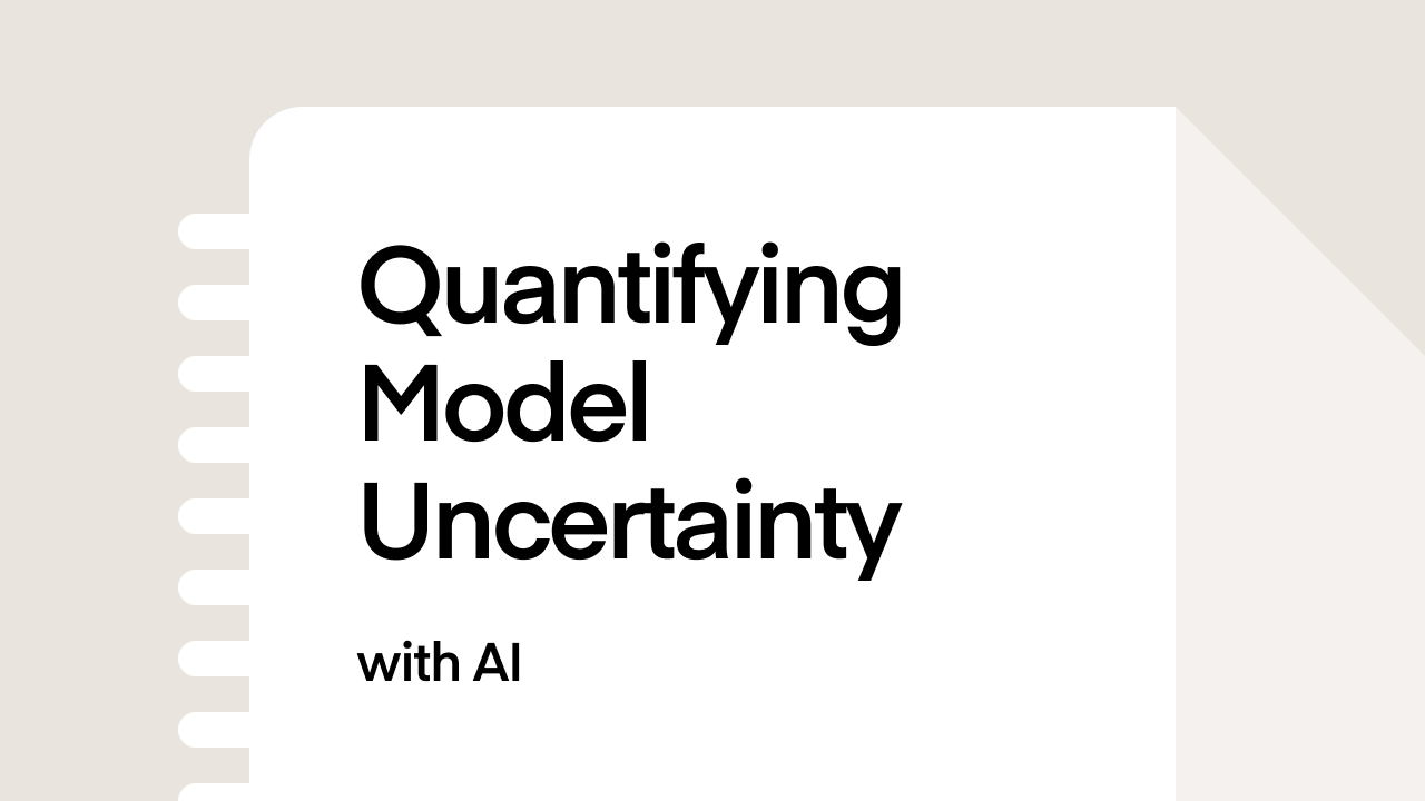 Quantifying Model Uncertainty with AI