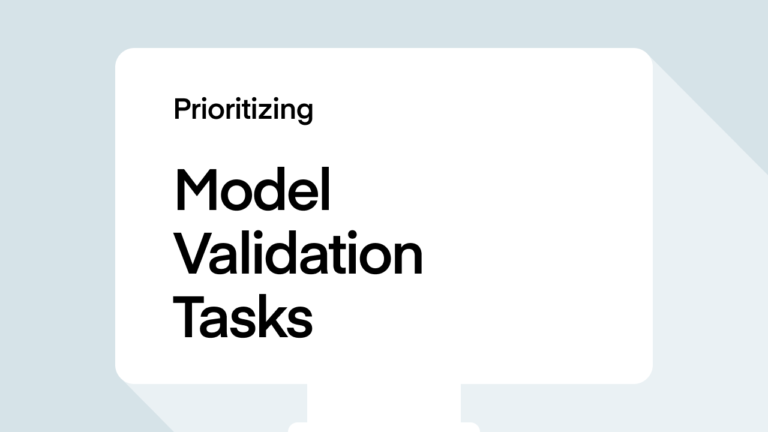 Prioritizing Model Validation Tasks