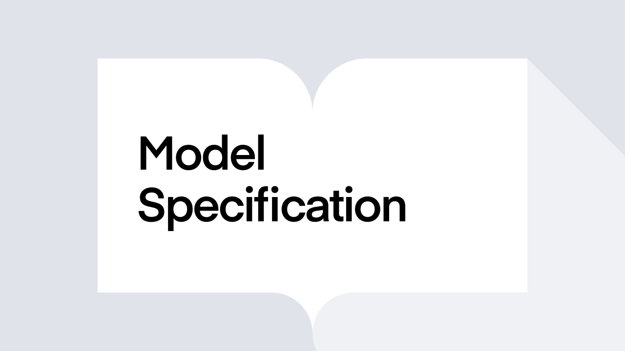 What is Model Specification?