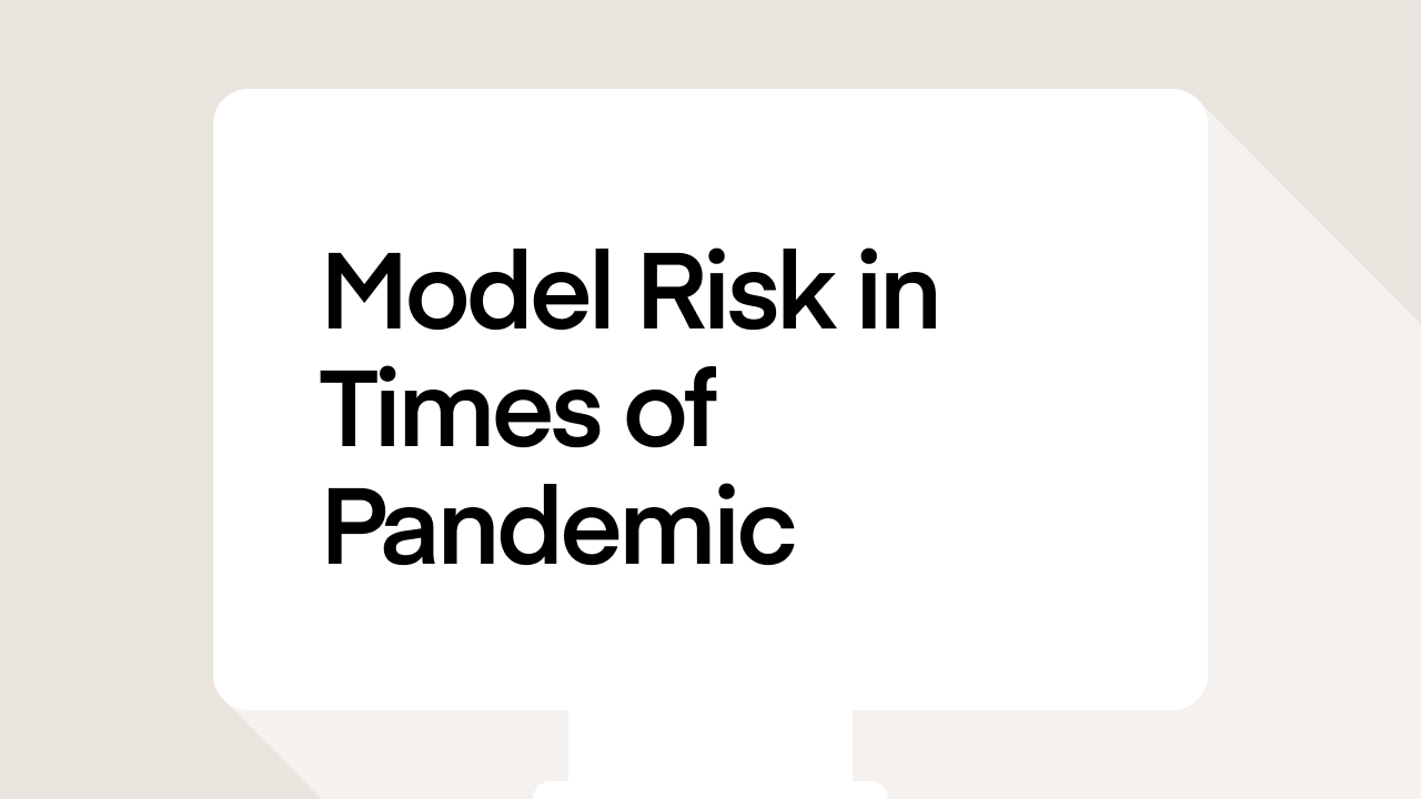 Model Risk in Times of Pandemic
