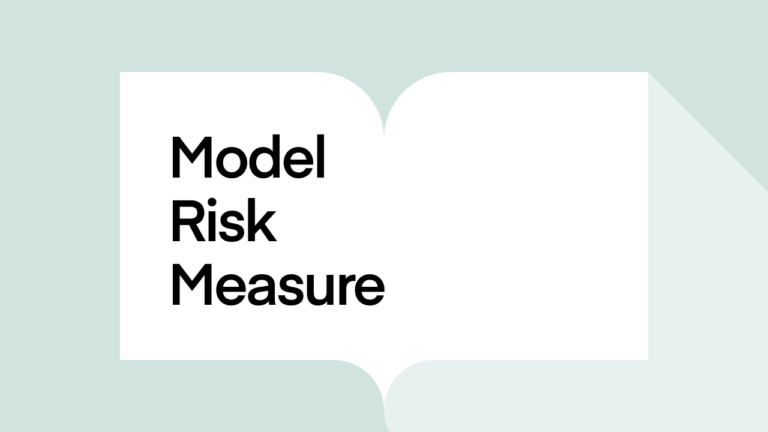 What is model risk measure?