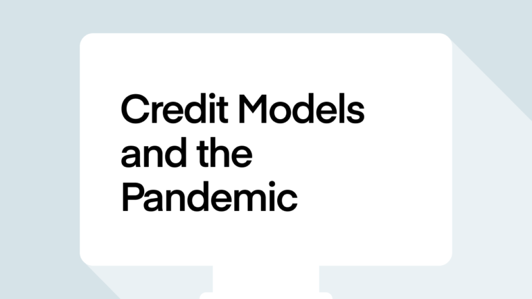 Credit Models and the pandemic