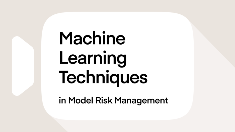 Machine Learning Techniques in Model Risk Management