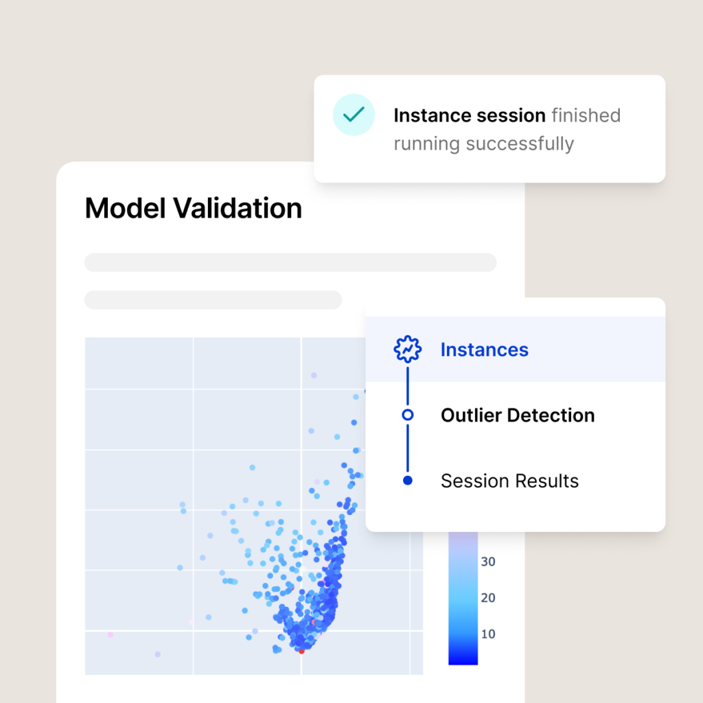 Model Validation - Instance session