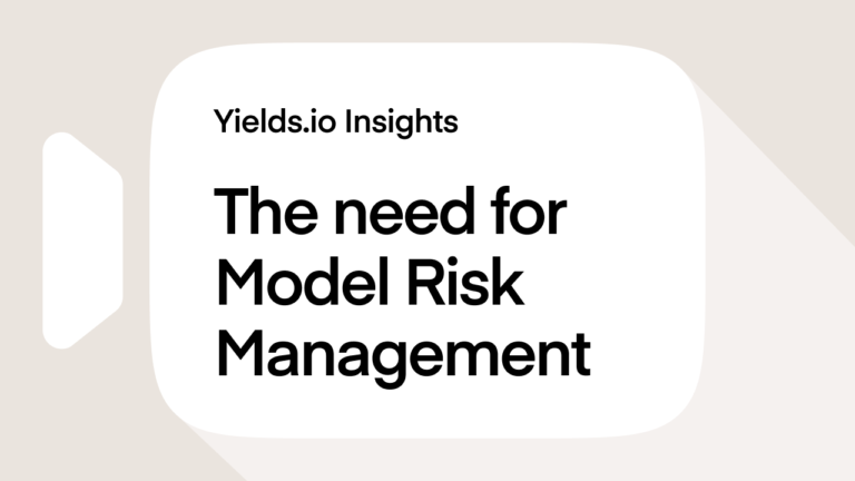 The need for model risk management
