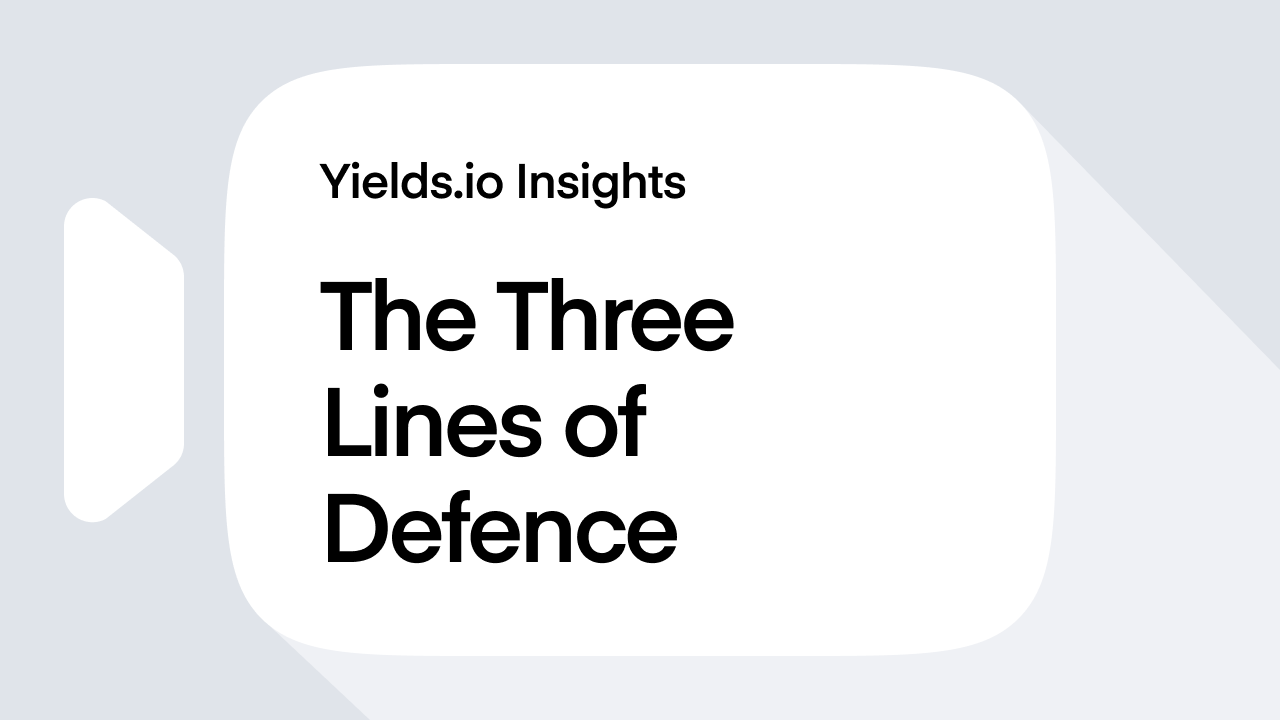 The Three Lines of Defence