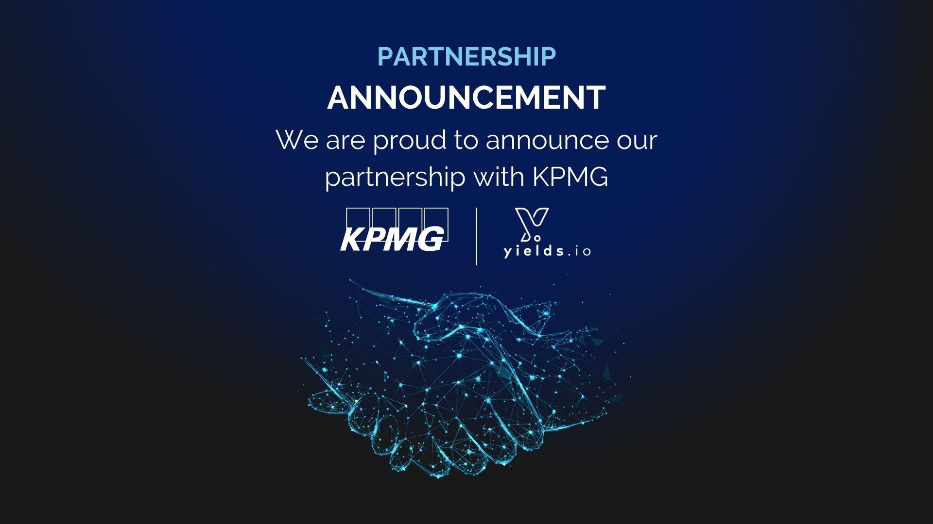 KPMG Yields.io Partnership